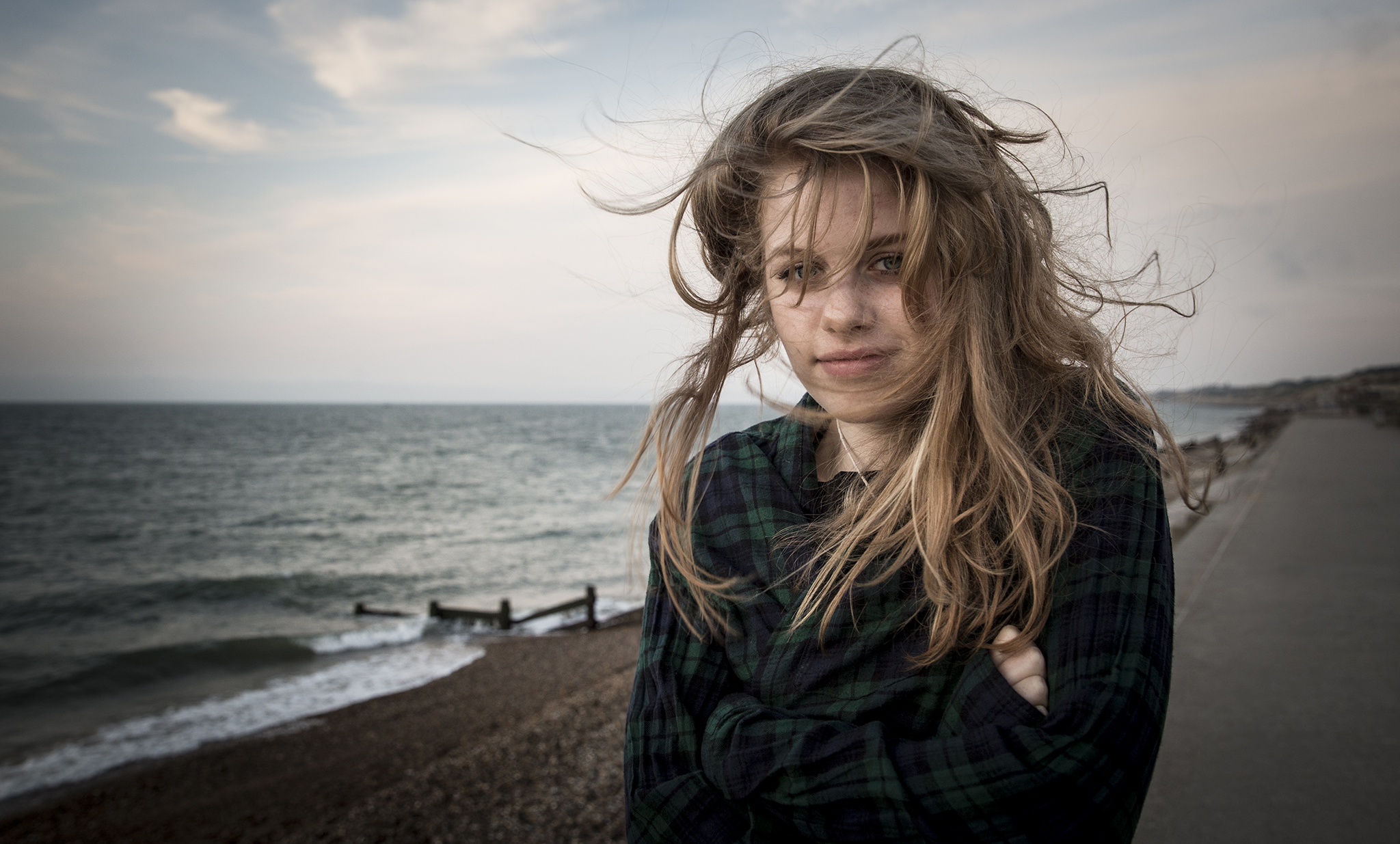 A wild and wind-swept Marianne