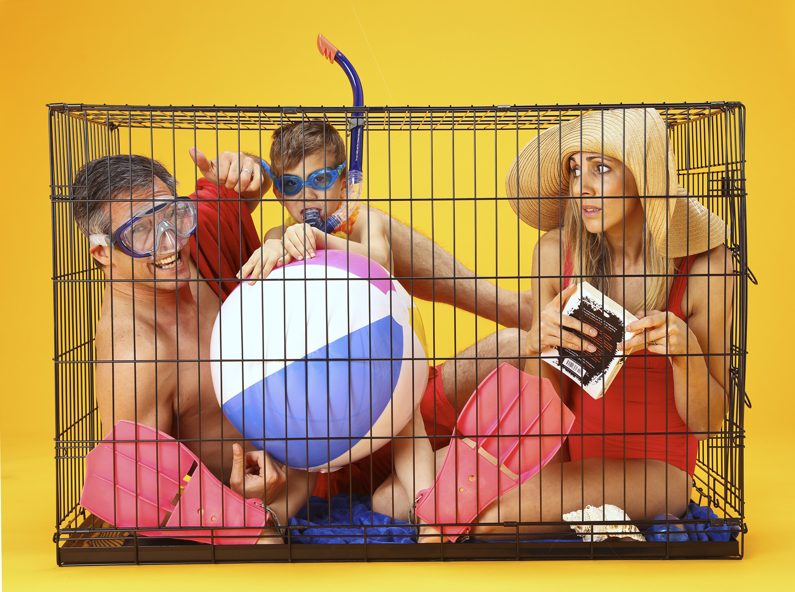 Would you spend your holiday in a cage?